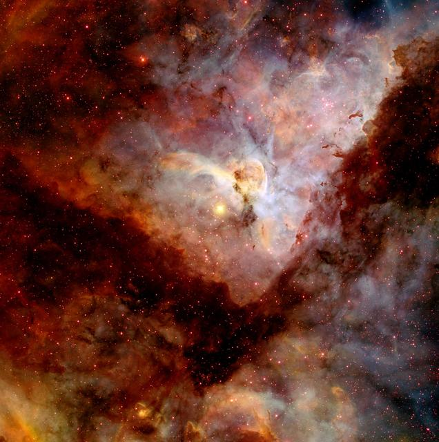 """NASA image release April 22, 2010  Object Names: Carina Nebula, NGC 3372 Image Type: Astronomical  Credit: NASA/N. Smith (University of California, Berkeley) and NOAO/AURA/NSF  To read learn more about this image go to:  <a href=""""http://www.nasa.gov/mission_pages/hubble/science/hubble20th-img.html"""" rel=""""nofollow"""">www.nasa.gov/mission_pages/hubble/science/hubble20th-img....</a>  <b><a href=""""http://www.nasa.gov/centers/goddard/home/index.html"""" rel=""""nofollow"""">NASA Goddard Space Flight Center</a></b>  is home to the nation's largest organization of combined scientists, engineers and technologists that build spacecraft, instruments and new technology to study the Earth, the sun, our solar system, and the universe."""