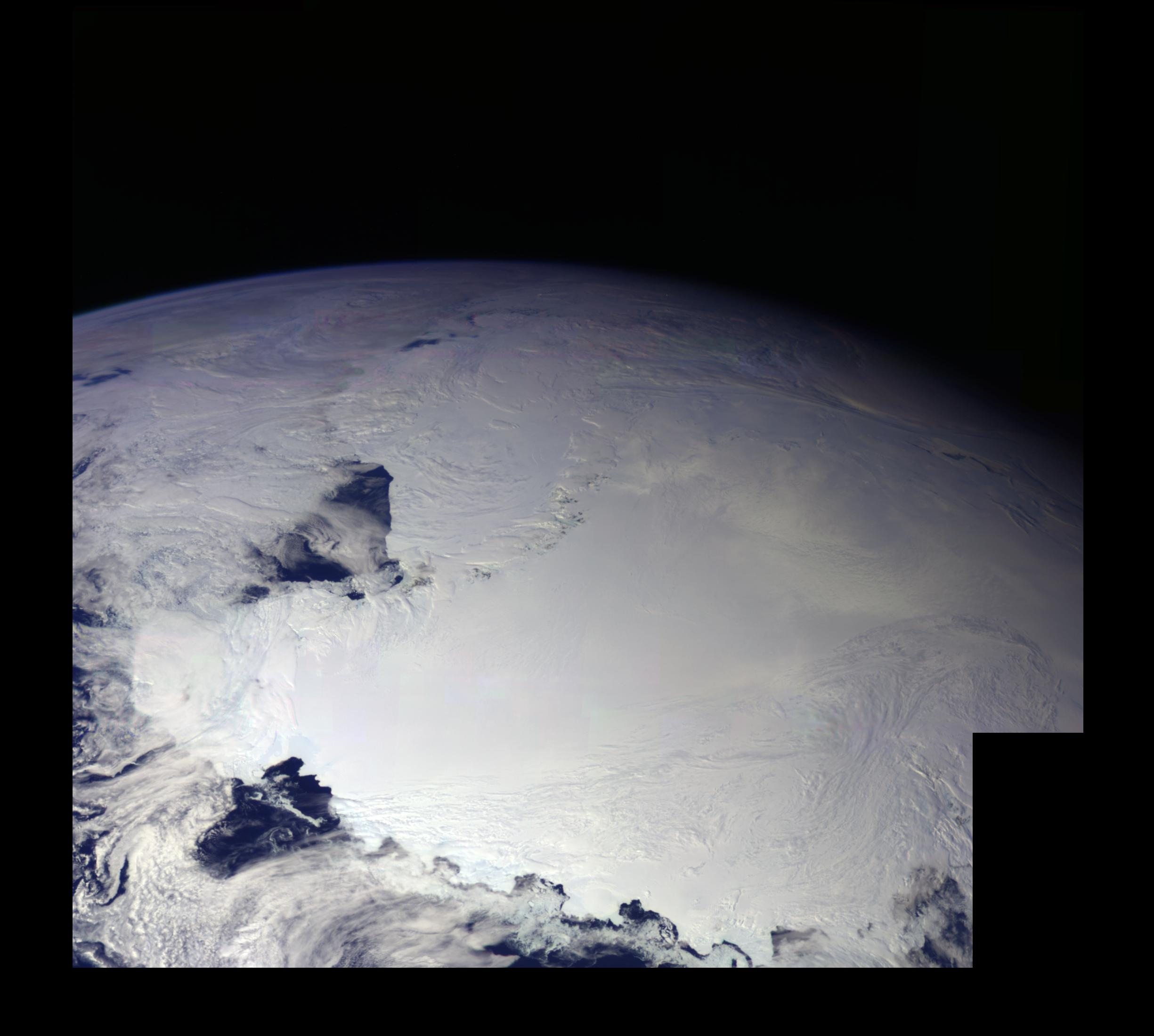 earth ross ice shelf antarctica nasa image and video library