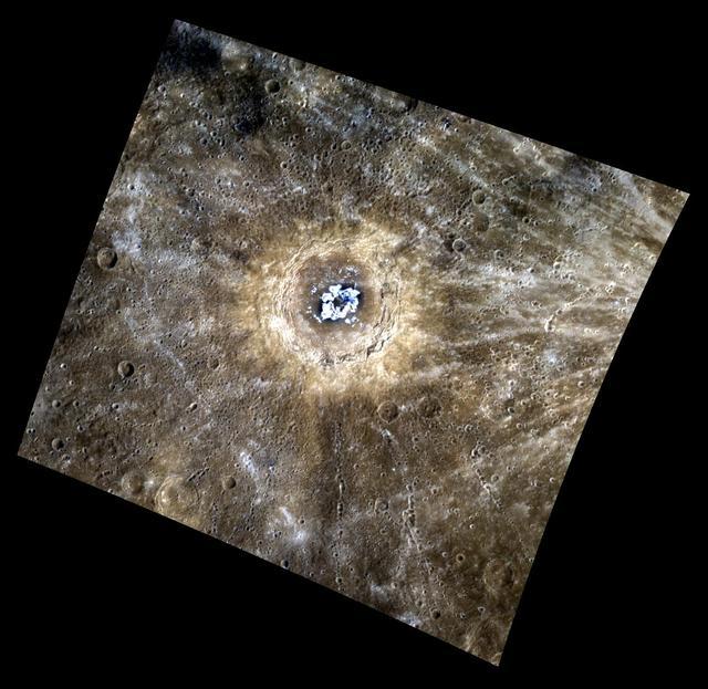 Nebula? No, It the Cat Eye Crater!