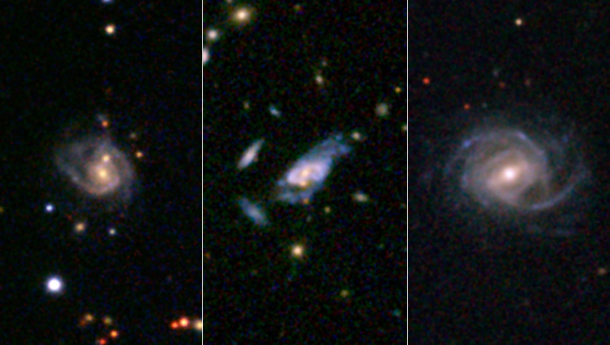 gargantuan super spiral galaxies loom large in the cosmos nasa