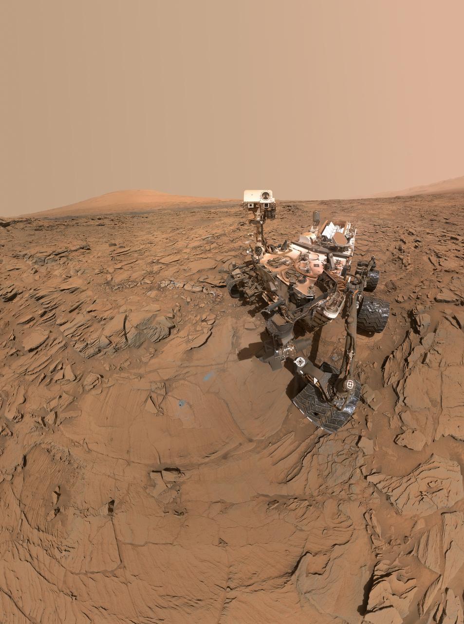 Mars Gezegeni'nden Manzaralar