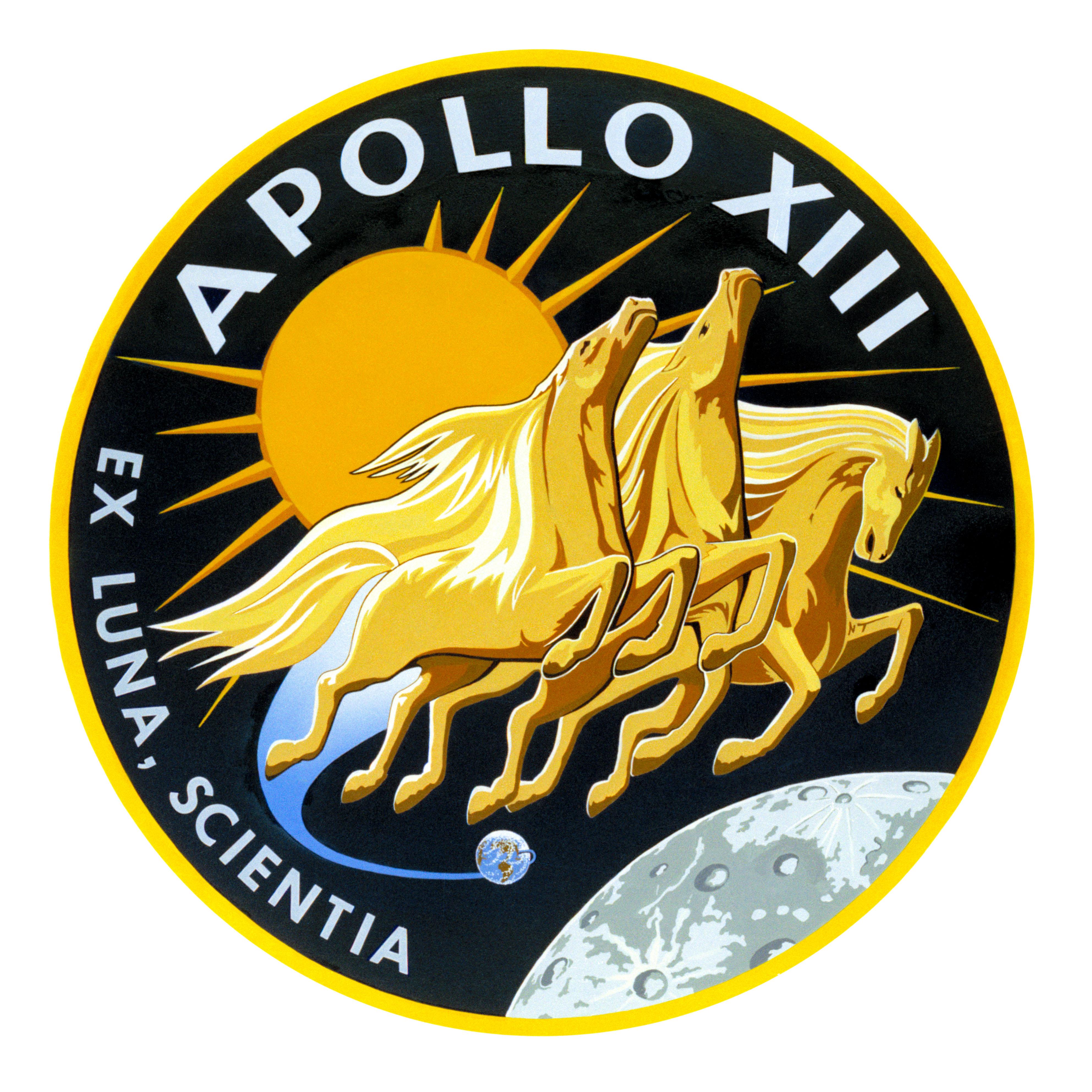 Apollo 13 emblem nasa image and video library biocorpaavc