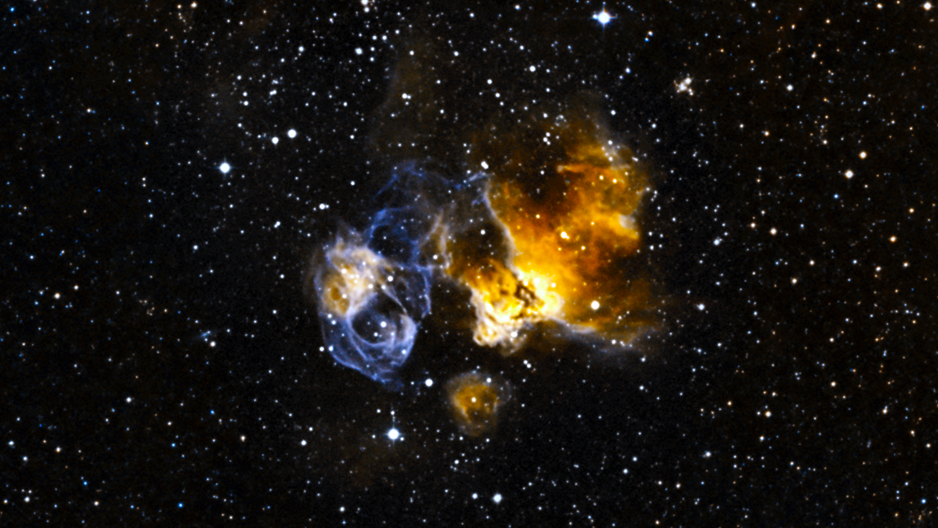 hardy star survives supernova blast nasa image and video library