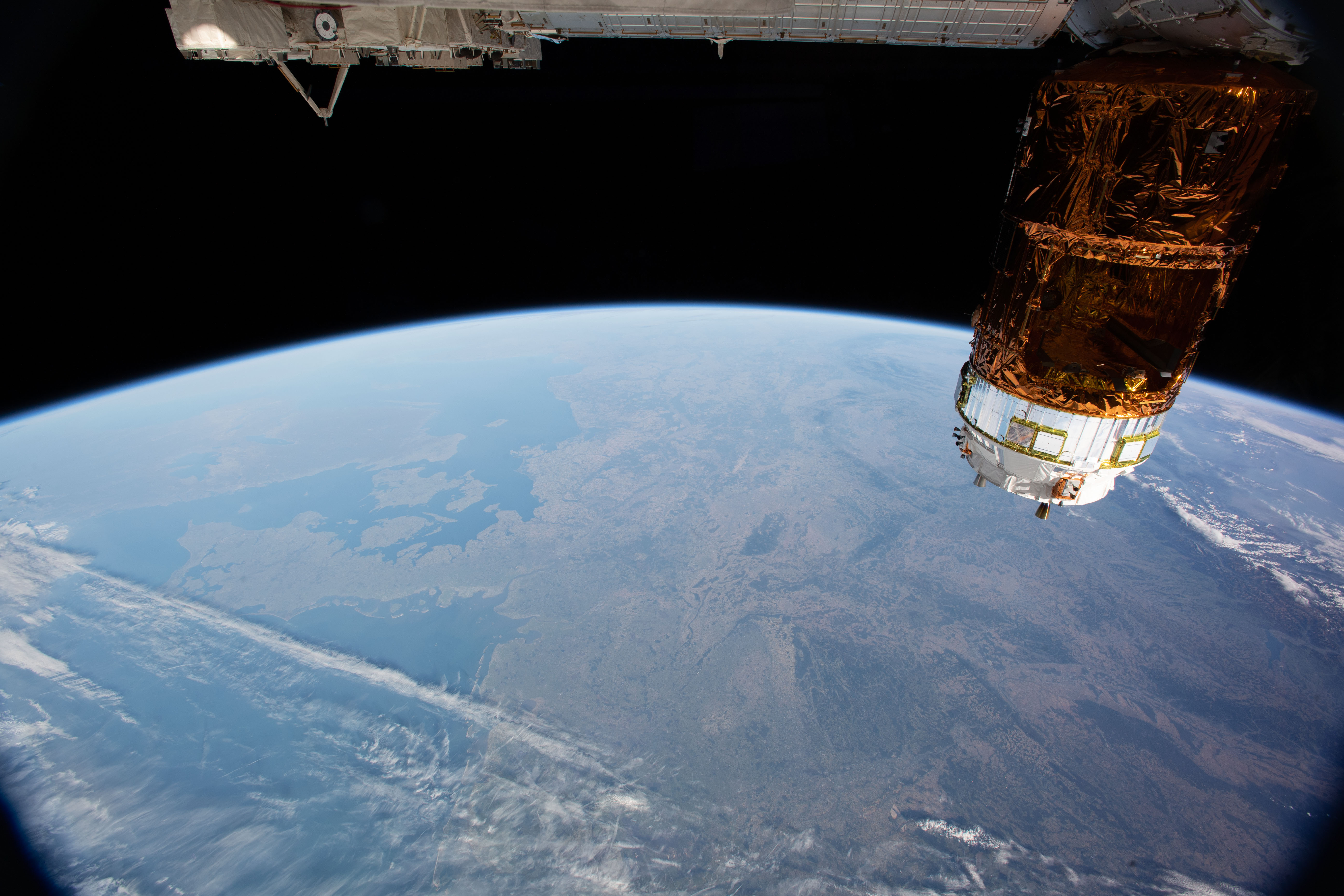 Producing time-lapse video onboard the International Space