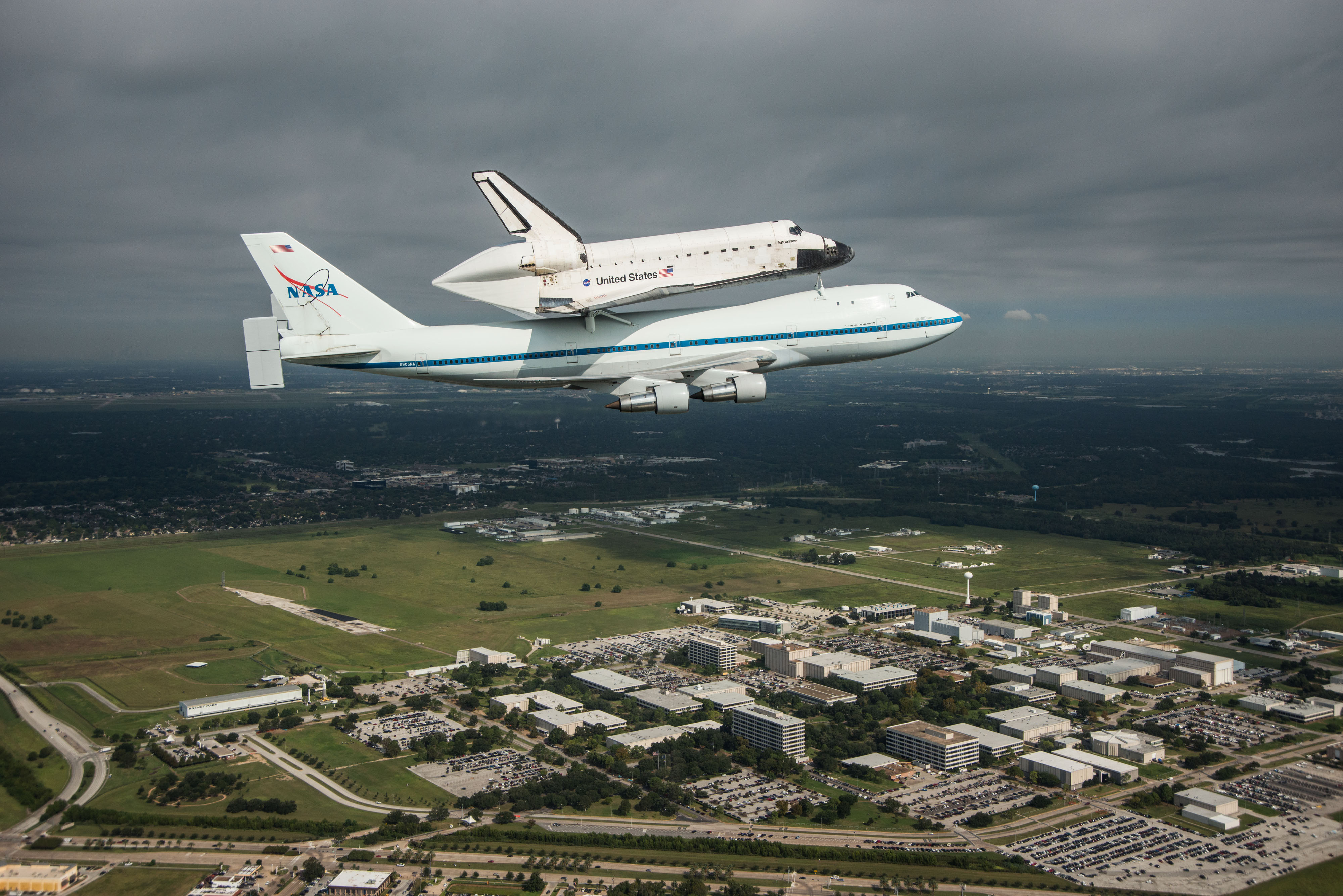 Endeavour Sitting Atop Nasas Shuttle Carrier Aircraft Sca Nasa Image And Video Library