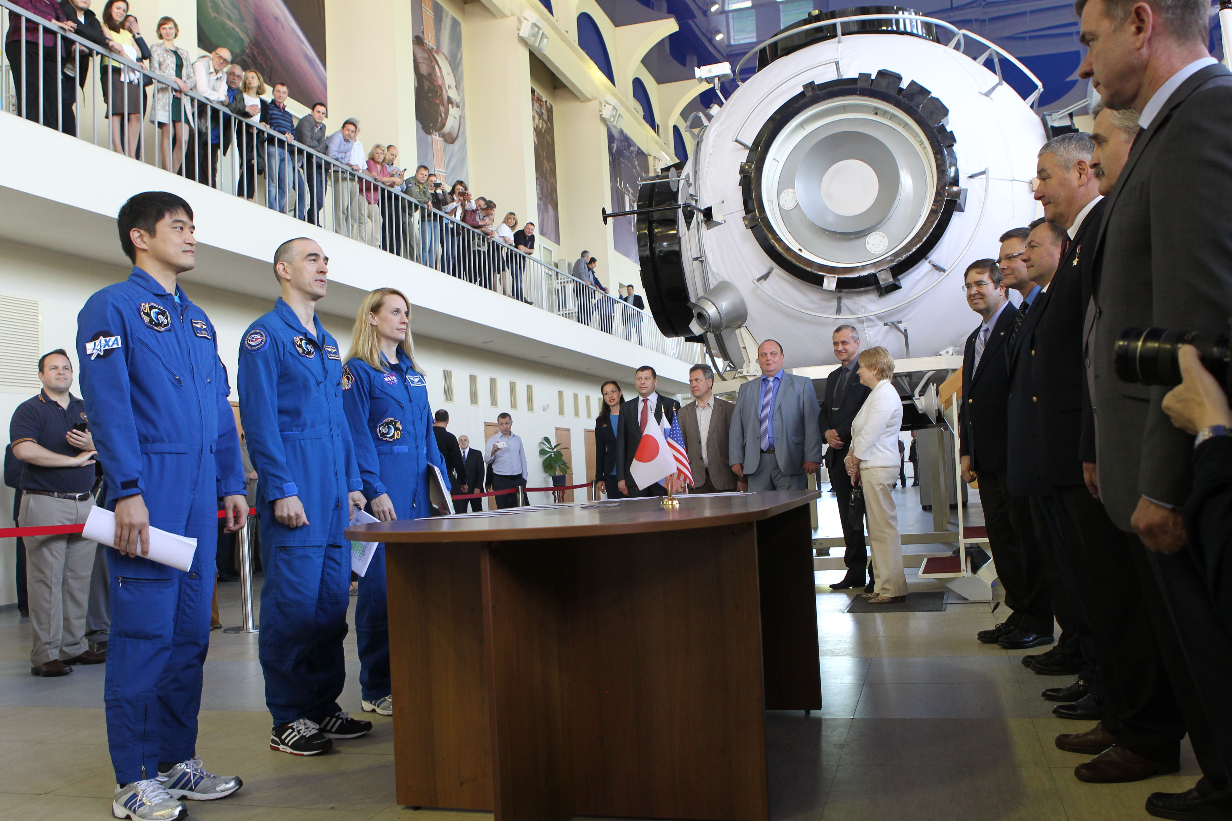 at the gagarin cosmonaut training center in star city russia