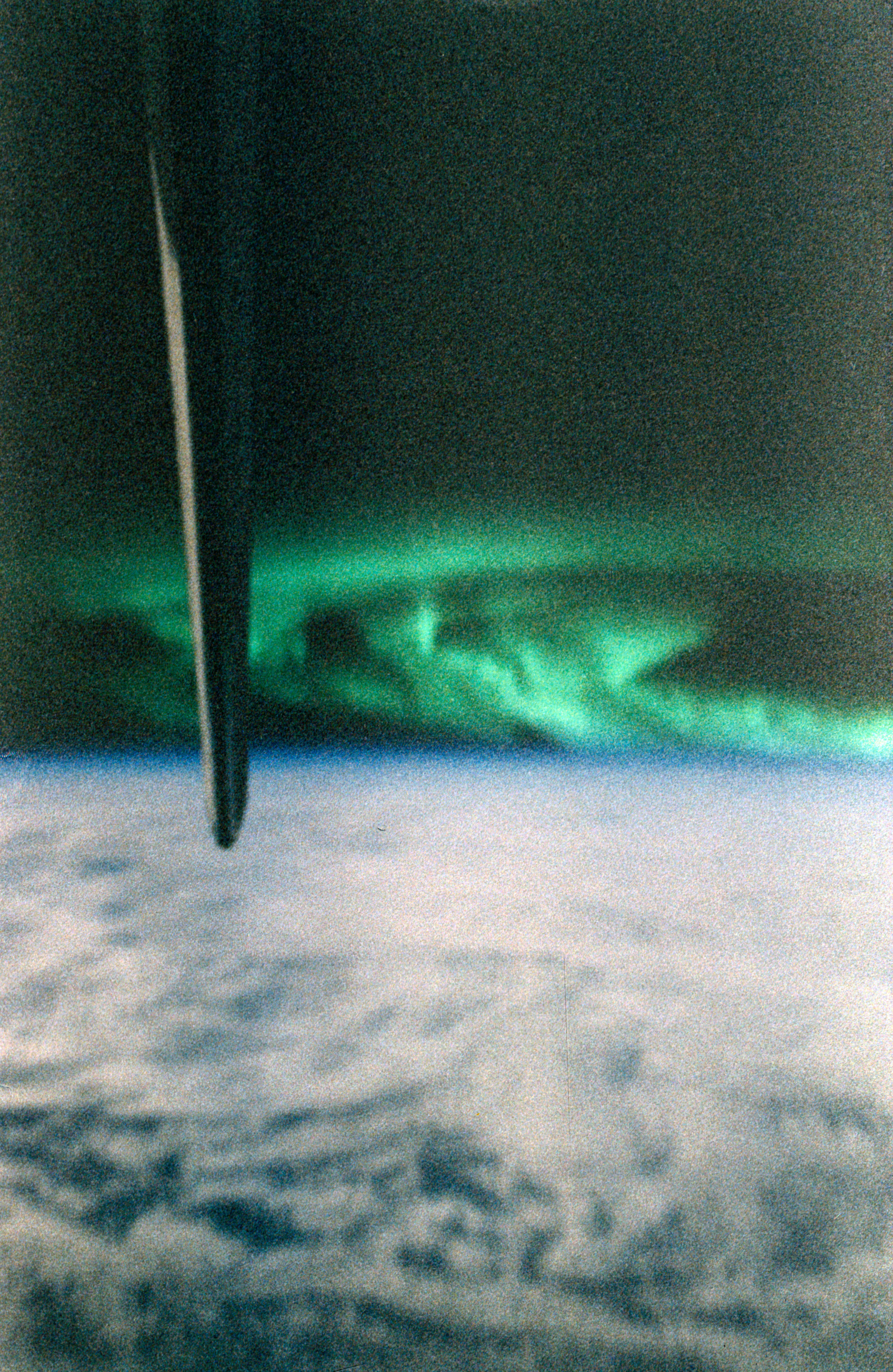 Aurora Australis taken from the shuttle Discovery during STS-85 ...